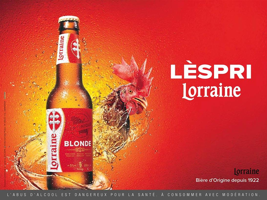 Publicité Bière Lorraine
