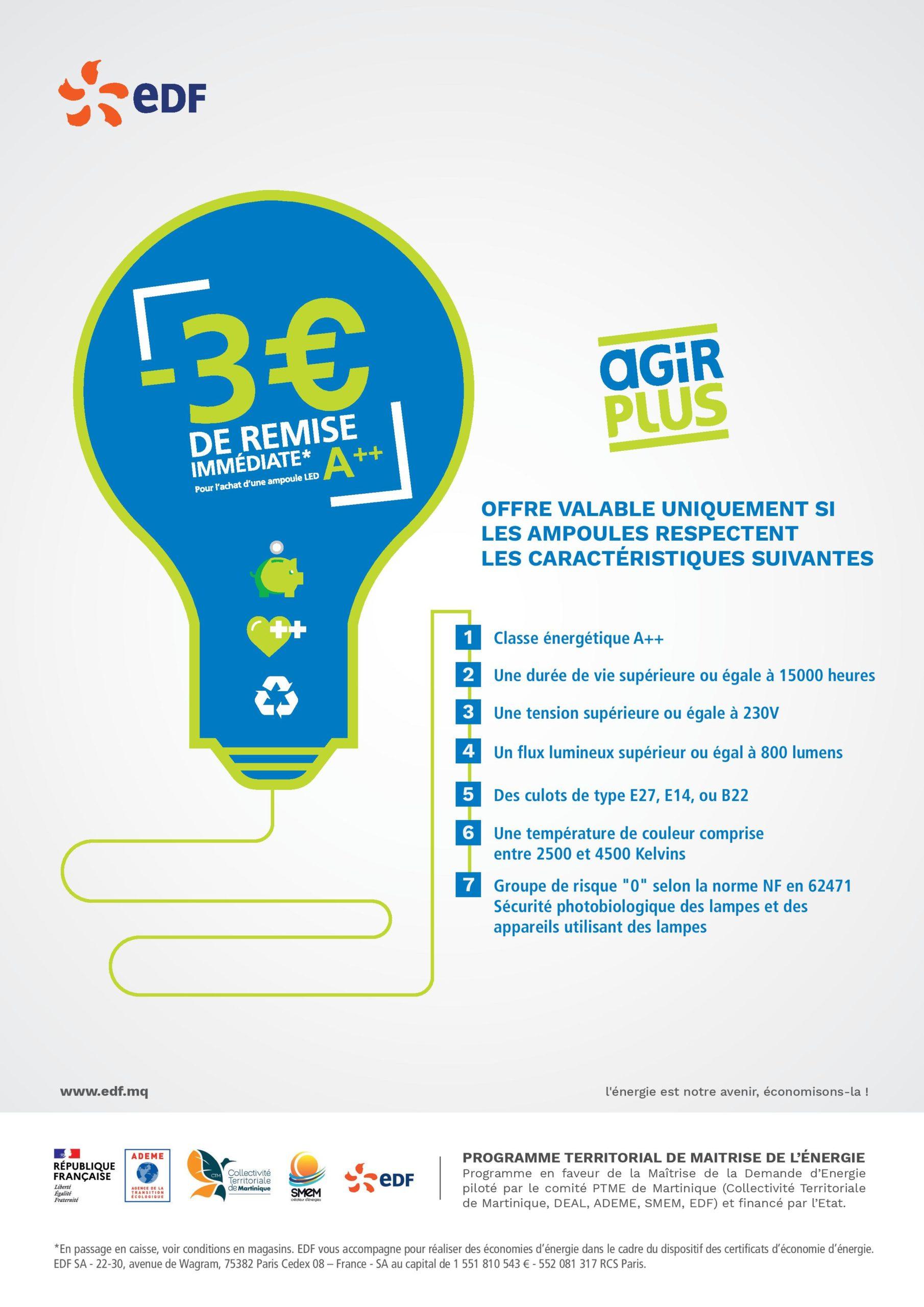 Affiche EDF
