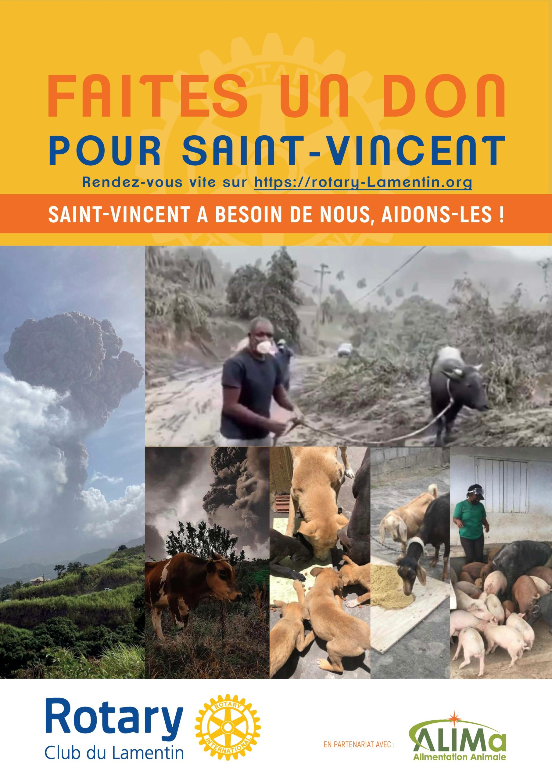 Affiche Rotary Club don St Vincent
