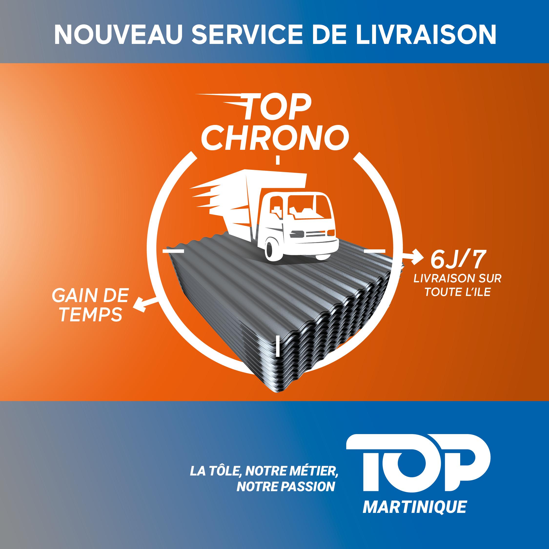 Publicité Top Martinique - Top Chrono
